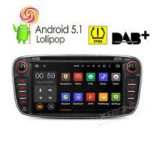 Android 5.1 Car DVD Stereo GPS Navi iPod Radio 1080P For Ford Focus Mondeo S-Max