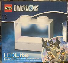 Lego Dimensions Display Case minifigure LED lite Blue White lighted *Choose ONE*