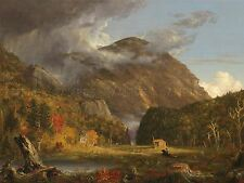 THOMAS COLE AMERICAN VIEW PASS WHITE MOUNTAIN CRAWFORD NOTCH ART PRINT BB6413A