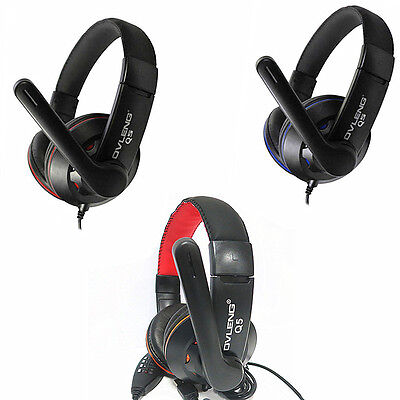 OVLENG Q5 USB Stereo Headphone Headset Earphone with Microphone for PC Laptop