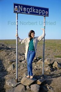 Wencke-Myhre-At-Shield-Nordkapp-Photo-20-X-30-CM-Without-Autograph-Nr-2-139