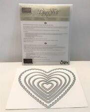 Stampin Up HEARTS COLLECTION Big Shot Sizzix Framelits Dies Die Cuts