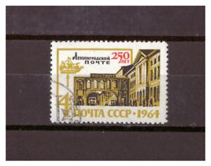 Sowjetunion-250-Jahre-Sankt-Petersburger-Post-MiNr-2930-1964-used