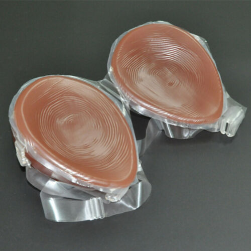 Details about  /Silicone Breast Full Plate Fake Self-adhesive Breast Crossdresser Enhancer