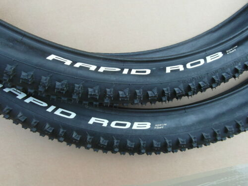 1 PAIR RAPID ROB 29 X 2.1 WIRED TYRES