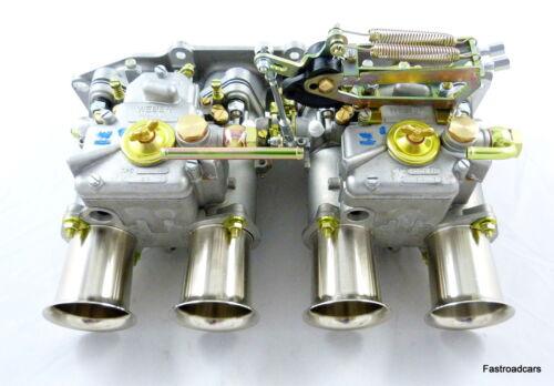 colector de admisión vinculación TC. Ford 2.0 Zetec Weber 45 DCOE 5 Prog 152G carburettors