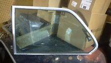 BMW 320i E21 Side Rear Quarter Window Glass LH Left w/ Latch