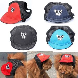 respirable-chapeau-pet-plage-hat-casquette-de-base-ball-de-chien-oxford-mesh