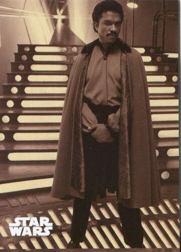 Star Wars ESB Black /& White Sepia Base Card #104 Lando Stands By