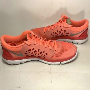 Nike Flex Fitsole pink womens sneakers