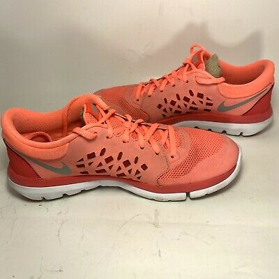 Irradiar Requisitos Tienda  Nike Flex Fitsole pink womens sneakers tennis athletic shoes Size 7 M | eBay