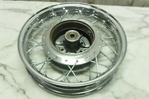 05 Suzuki LS 650 LS650 S40 Boulevard rear back wheel rim straight