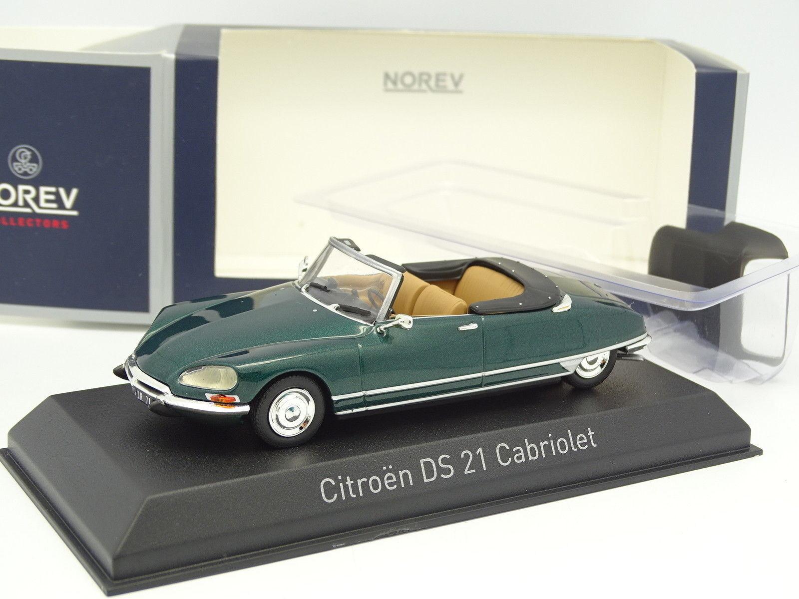 Norev 1 43 - citroen DS 21 Cabriolet grün