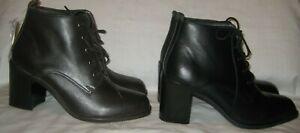 Tesco brown \u0026 black leather upper work