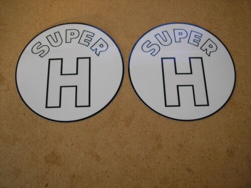 SUPER H NEW FOR TRACTORS DECAL SET IH// McCORMIC// FARMALL # 19-5-12