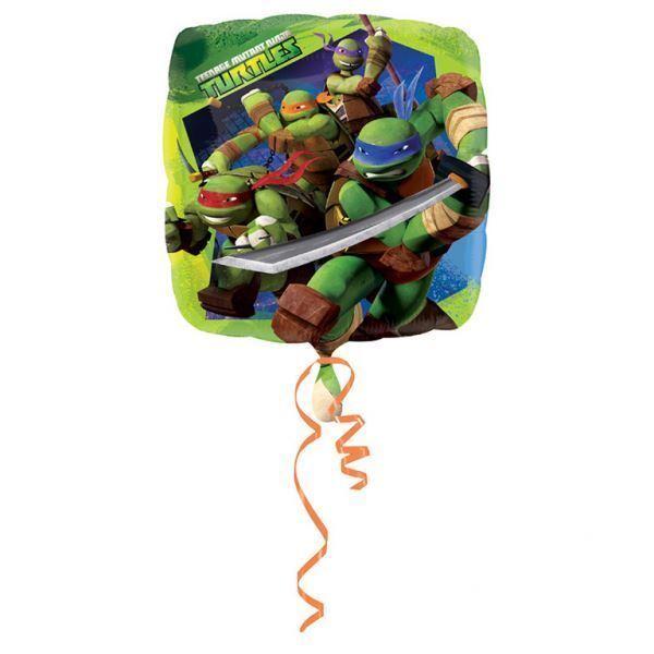 45.7cm Teenage Mutant Ninja Turtles Tmnt Fête Carré Feuille Ballon