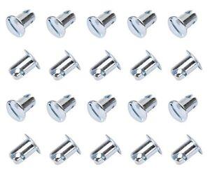 Dzus Fastener 10 pack IMCA USMTS Quarter Turn Fastener .500 Aluminum