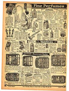 1927 AD PERFUMES COTY'S L'ORIGAN VAIL TETLOWS DJER-KISS IMPORTED FRENCH RAZOR