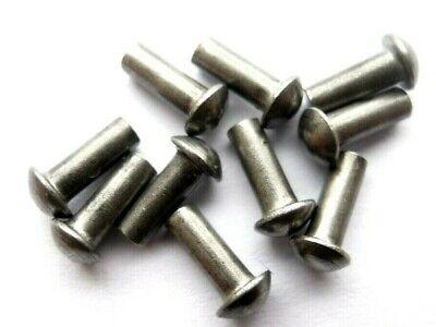50 Kupfernieten  DIN 660 Halbrundkopf 2x10