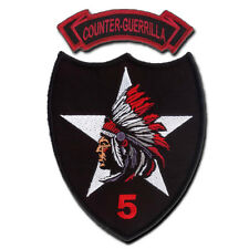 5-2 Infantry (5th Stryker Brigade) Counter Guerrilla Embroidered Patch and Tab