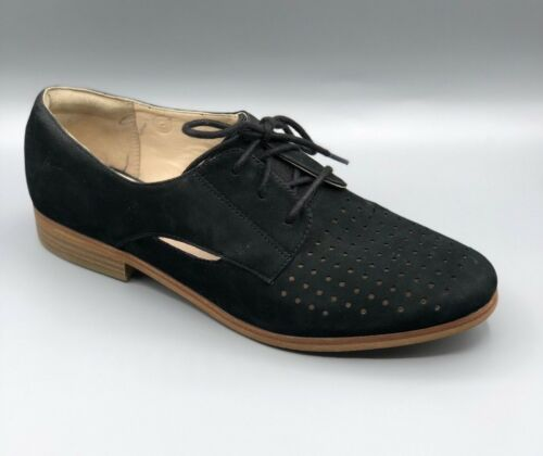 New Uk Nubuck Brogues 5 Shoes Ladies Molly D hotel Black Clarks qWnTYFqU