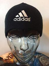 Adidas Originals 90's Vintage Winter Skiing Hat Beanie Mens Cap Black Hip Hop