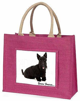 Scottie-hund dir für immer Große Rosa Einkaufstasche Weihnachtsgeschenk,