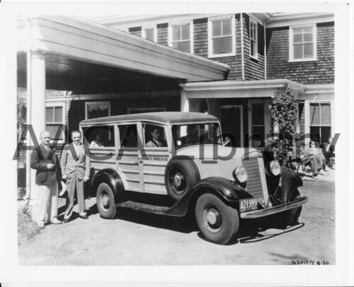 Factory Photo Ref. #48261 1935 International Harvester C1 Station Wagon Wood