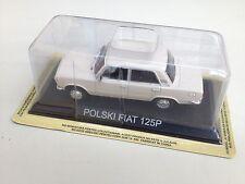 POLSKI FIAT 125 P - 1:43  AUTO DIECAST IXO / IST LEGENDARY CAR /BA77