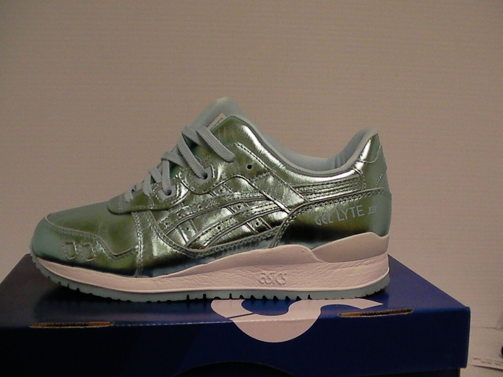 femmes 's asics chaussures gel lyte iii ice Bleu Taille 8 us new with box