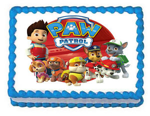 Edible Cake Decorations Paw Patrol : PAW PATROL Edible image Cake topper -75