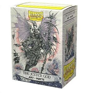 Dragon Shield Matte Art Sleeves - The Jester God (100 Sleeves)