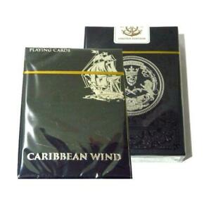 Caribbean-Wind-Playing-Cards-Limited-Edition-Rare-Deck-Metallic-Ink