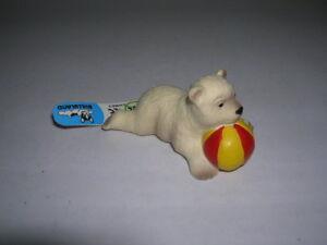 Toys & Hobbies Contemplative Bullyland Figurine Happy Animal Eisbärenbaby Elisa 63624 Action Figures