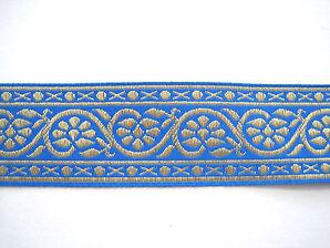 Ranken Borte Blau Gold BO-J3-1599