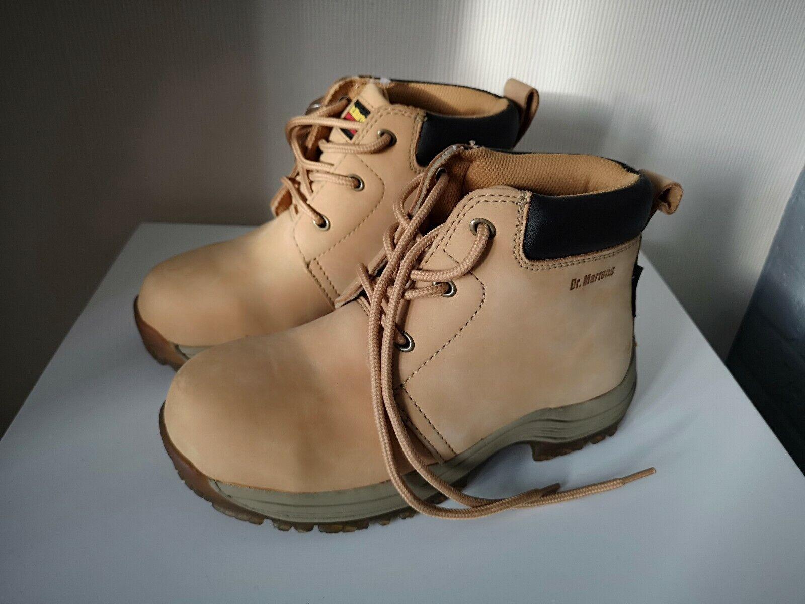 all'ingrosso economico e di alta qualità DR Martens Miele Nubuck Stivali industriale. Boho Boho Boho Grunge Festival Misura 3 NUOVO SENZA SCATOLA  in vendita