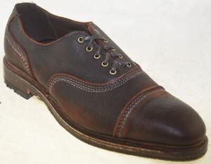 Allen-Edmonds-Men-039-s-Overlord-Cap-Toe-Oxford-Brown-Style-1671-39209-9D