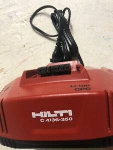 chargeur de batterie Hilti Neuf C4/36-350