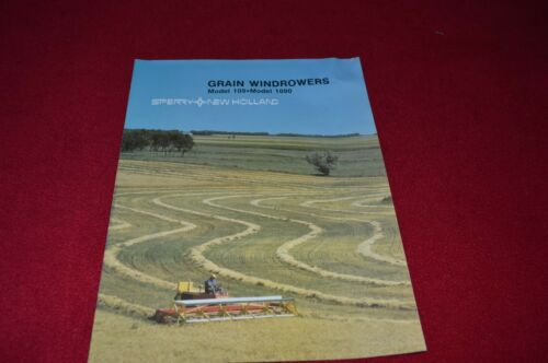 New Holland 1090 109 Grain Windrowers Dealer/'s Brochure LCOH