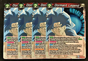 4x Denial of Hope BT7-023 UC Dragon Ball Super TCG NEAR MINT