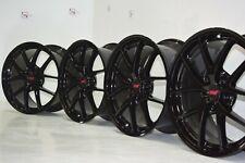 Subaru Sti Oem Wheels Rims Factory Oem Black 18 18x85 55 5x1143 Set Of 4