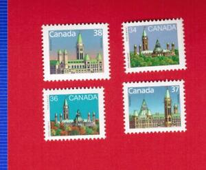 1985-to-1988-925-926B-1163-1165-HOUSES-PARLIAMENT-CANADA-STAMPS-MINT-COLL3