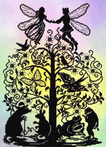 POUCELINA Cross Stitch Kit-Neuf XFT8P Bothy Threads Fairy Tales