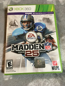 Madden NFL 25 - Microsoft Xbox 360 - 2013 - COMPLETE - TESTED - FREE SHIPPING