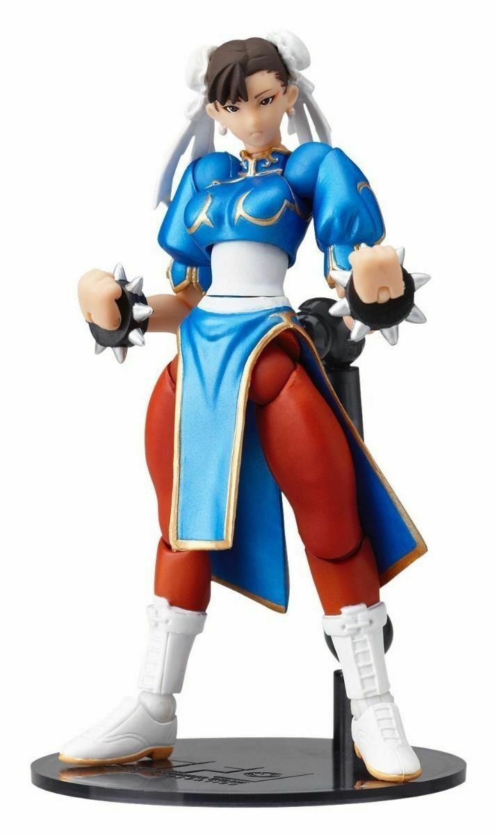 Revoltech SFO nr.003 STREET fighter Chun -Li Figur Kalyodo NY från japan