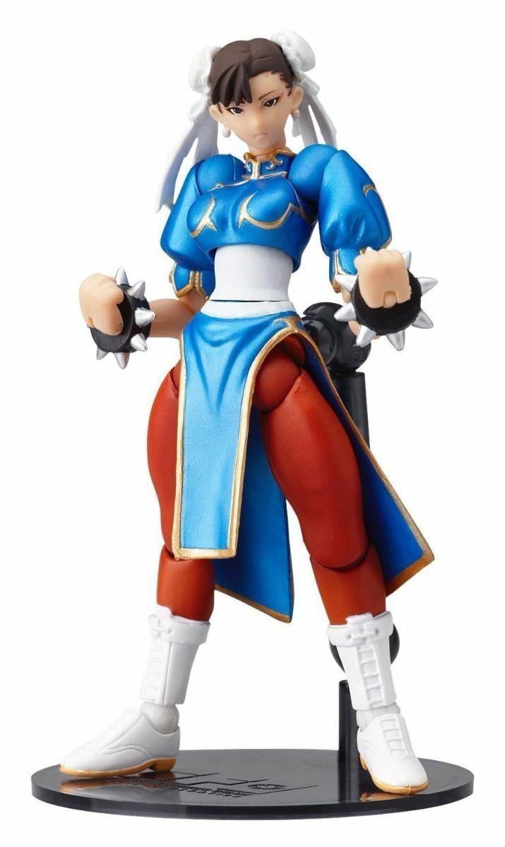 Revoltech Sfo No.003 Street Fighter Chun - li Statuetta Kaiyodo Nuovo da