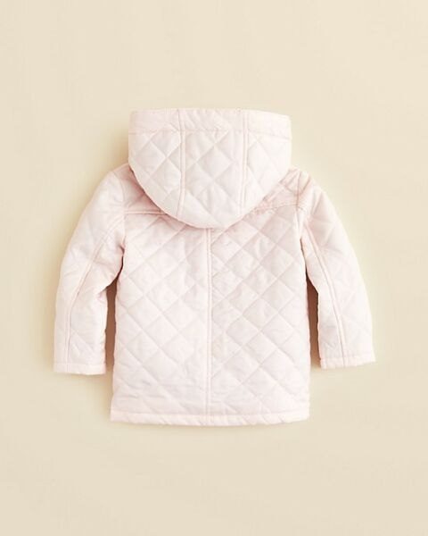 663edc5c9aeb NWT NEW Burberry baby girls boys Jerry red pink or blue quilted jacket 6m  or 18m. Hover to zoom