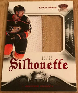 2013-14-Crown-Royale-Silhouette-Materials-Luca-Sbisa-S-LSB-Numbered-12-25