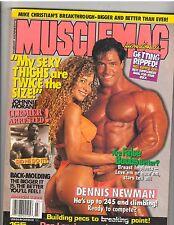 MUSCLEMAG bodybuilding muscle magazine/Dennis Newman/Allison Wolf 3-96 #165