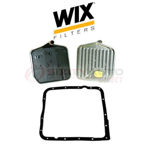 hn WIX Auto Transmission Filter Kit for 1982-1991 Chevrolet Corvette 5.7L V8